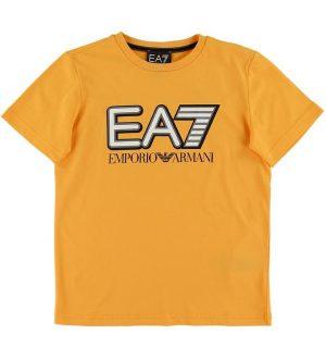 EA7 T-shirt - Gul m. Logo