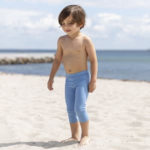 Petit Crabe Fly UV leggings - Dusty Blue