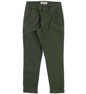 Hound Chinos - Armygrøn