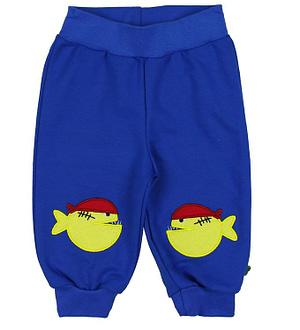 Freds World Sweatpants - Blå m. Piratfisk