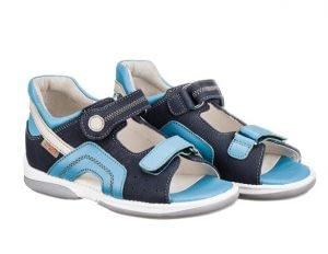 Memo Szafir sandal, marine/blå - sandal med ekstra støtte