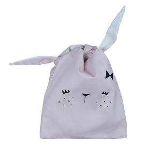 Bunny Snack Bag - Mauve - Str. One size