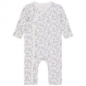 NAME IT Blomstret Heldragt Hvid - Tøjstørrelser: 50