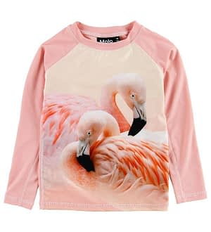 Molo Badebluse - UV50+ - Neptune - Flamingo Dream