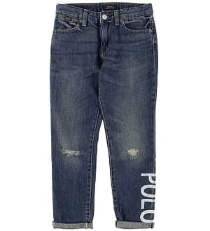 Polo Ralph Lauren Jeans - Astor - Blå Denim m. Print