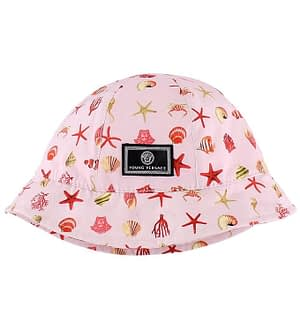 Young Versace Sommerhat - Rosa m. Havdyr