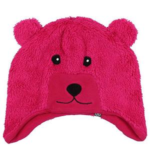 Color Kids Hue - Kippo - Fleece - Mørk Pink Bjørn