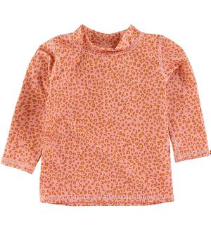 Soft Gallery Badebluse - UV50+ - Rose Cloud m. Leopard