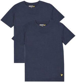 Lyle & Scott T-shirts - 2-pak - Navy Blazer