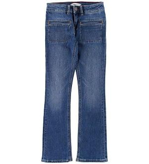 Tommy Hilfiger Jeans - Skinny Flare - Blå