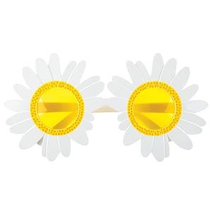 Solbriller - Margueritter (hvid/gul)