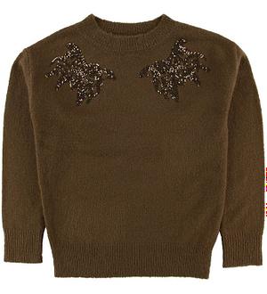 Hound Bluse - Strik - Light Brown
