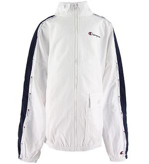 Champion Fashion Cardigan - Full Zip Sweatshirt - Hvid