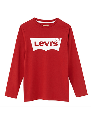 Levis Batwing T-shirt L/S Red