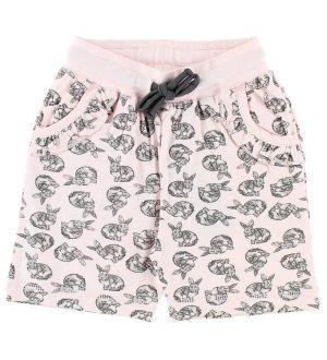 BombiBitt Shorts - Rosa m. Kaniner