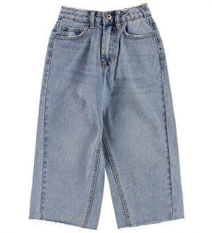 Grunt Jeans - Crop - Blå