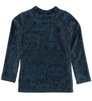 Soft Gallery Badebluse - Astin - UV50+ - Orion Blue Owl
