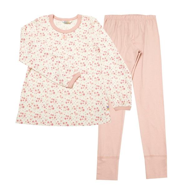 Joha Pyjamas Bomuld - Rosa Blomster
