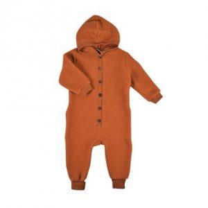 MIKK-LINE Merinould Køredragt Leather Brown - Tøjstørrelser: 56