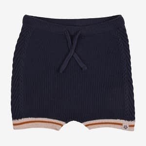 PAPFAR Strikket shorts - Blue Nights - 50/56