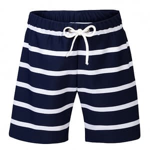 Petit Crabe Alex UV shorts - Blue/white