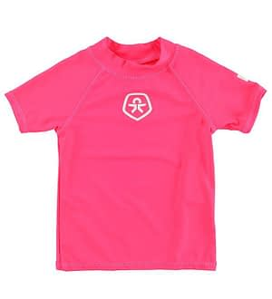 Color Kids Badebluse - Timon - UV50+ - Pink
