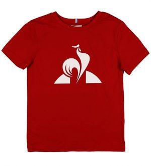 Le Coq Sportif T-shirt - Enfant - Rød m. Logo