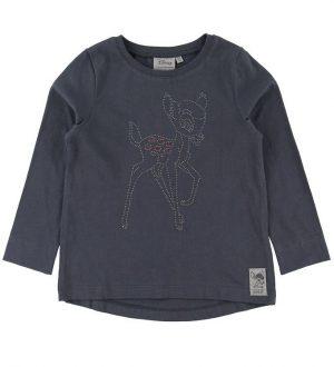 Wheat Disney Bluse - Bambi - Greyblue