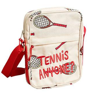 Mini Rodini Taske - Tennis - Offwhite