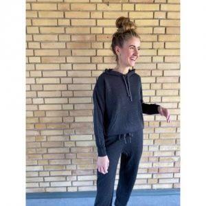 ONLY Strik Sweatshirt Laubree Dark Grey - Tøjstørrelser: L