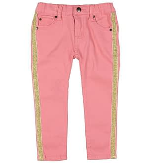 Small Rags Jeans - Rosa m. Glitter