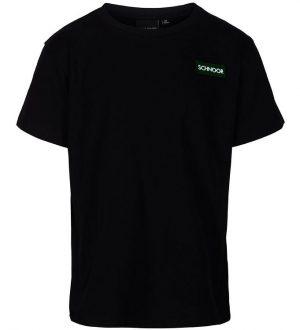 Schnoor T-shirt - Oliver - Sort m. Logo