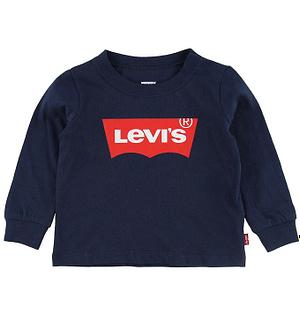 Levis Bluse - Navy m. Logo