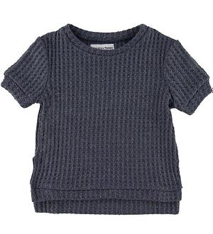 Christina Rohde T-shirt - Strik - Koksgrå