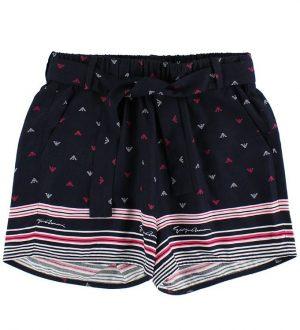 Armani Junior Shorts - Navy m. Logo/Striber