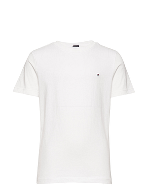 Tommy Hilfiger T-shirt S/S White Dreng
