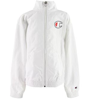 Champion Fashion Cardigan - Hvid m. Logo