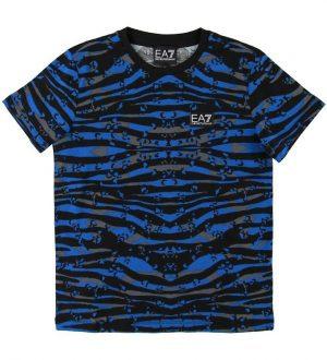 EA7 T-shirt - Blå Camo