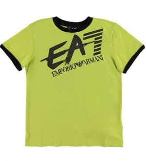 EA7 T-shirt - Lime m. Logo
