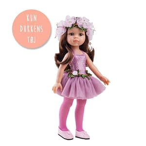 Amiga dukketøj - Pink ballerina