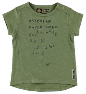 Tumble 'N Dry T-Shirt - Possum - Army m. Tekst